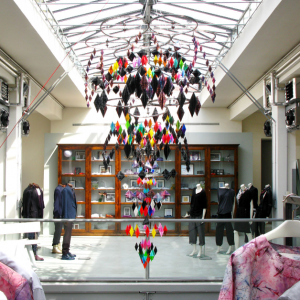 Gilles & Cecilie - Paul Smith Showroom Milan