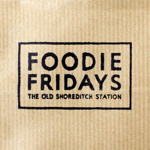 foodie-fridays_logo_brown-paper_old-shoreditch-station