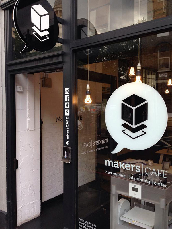 Shoreditch Station: MakersCAFE Now Open At The Old Shoreditch Station