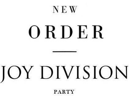 New Order | Joy Division Party 2019 « JAGUARSHOES COLLECTIVE